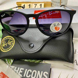 NWT Polarized Black Frame Sunglasses  Ray-Ban 4171